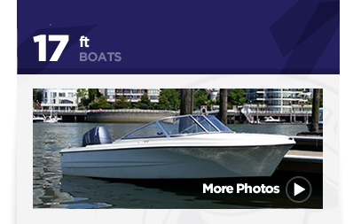 17ft Hourston Glascrafft - Boat Rental Vancouver