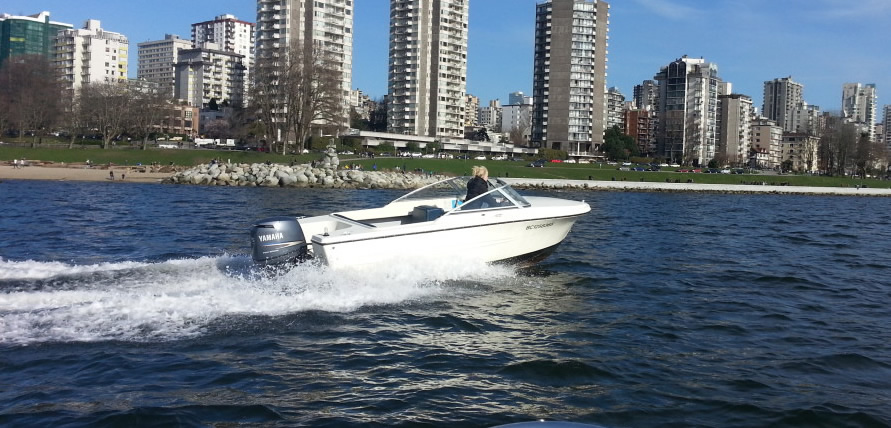 17ft Boat Rental