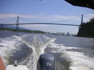 17ft rental boat lions gate bridge