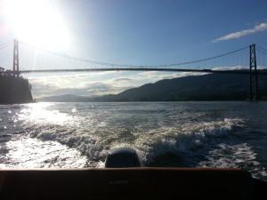 18ft rental boat lions gate bridge