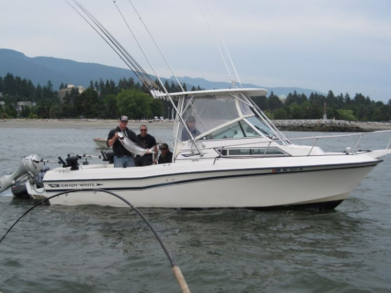 Fishing Charter Vancouver Boat
