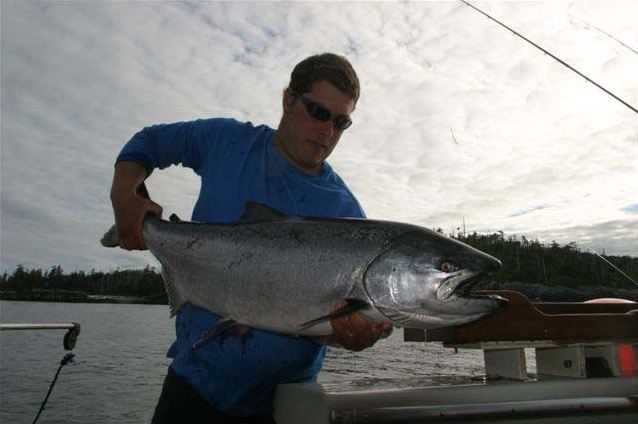 Fishing charter catch of the day
