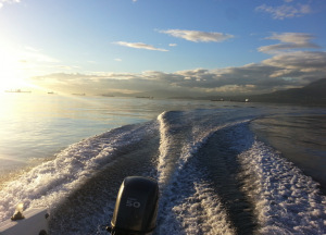 16ft rental boat in English Bay