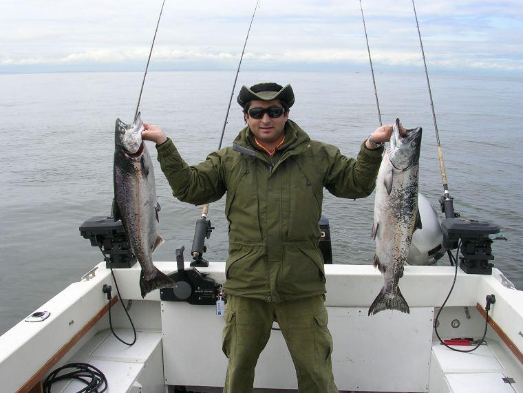 Successfull fishing charter