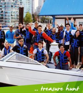Treasure Hunt Boat RentalVancouver