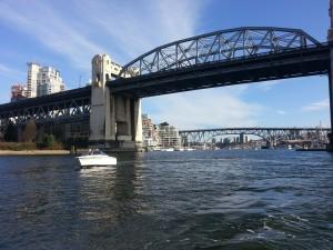Boat Rental at Burrard Bridge vancouver