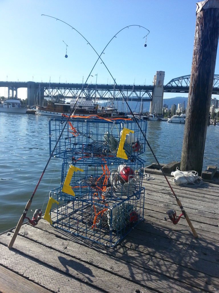 fishing and crabbing gear
