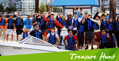 Boat Rental Vancouver Treasure Hunt