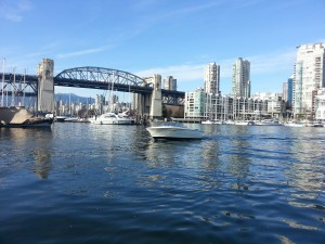 Boat Rental Burrard Bridge Vancouver