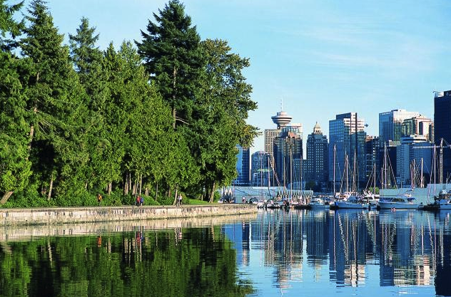 Stanley Park by boat