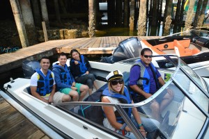 Ready to win at Granville Island Boat Rentals