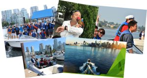 Team Building Vancouver with Vancouver Boat Rentals