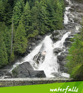 Granite Waterfalls Indian Arm